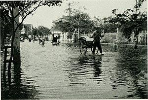 Edward Sigerfoos - Photo of the 1917 flood that struck Tientsin.