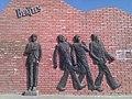The Beatles Monument in Ulaanbaatar.jpg