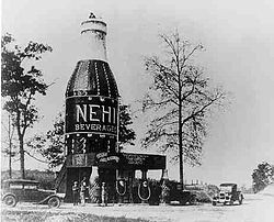 "A 1924 picture of ""The Bottle""."