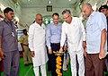 """The Chief Minister of Chhattisgarh, Dr. Raman Singh inaugurating the """"Saath Hai Vishwaas Hai, Ho Raha Vikas Hai"""" Exhibition of DAVP, in Raipur on June 07, 2017. The Member of Parliament, Shri Ramesh Bais is also seen.jpg"""
