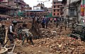 The Engineer Task Force of the Indian Army engaged in rescue operation General Area, in Barpak on 03 May 15, following a recent massive earthquake in Nepal.jpg