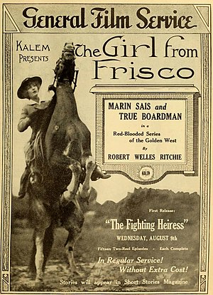 Marin Sais - The Girl from Frisco (1916)