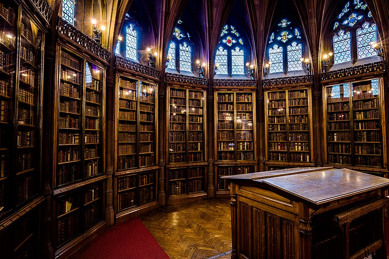 File:The John Rylands Library Reading Room Enclosure.jpg