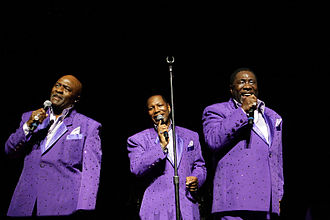 The O'Jays - The O'Jays (Walter Williams, Eric Grant and Eddie Levert) perform at the Arie Crown Theater in Chicago, April 2010.