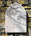 The Old Chapel Sign - geograph.org.uk - 1240278.jpg