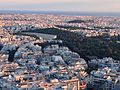 The Panathenaic Stadium and Ardittos hill - panoramio.jpg