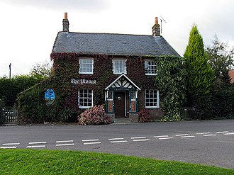 Ashmansworth - The Plough (former public house), photographed in 2005