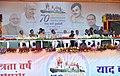 The Prime Minister, Shri Narendra Modi at the public meeting to mark launch of 70th Freedom Year Celebrations, in Bhabra village, Alirajpur district, Madhya Pradesh (2).jpg