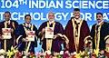 The Prime Minister, Shri Narendra Modi releasing the 104th Indian Science Congress Plenary Proceedings, at Tirupati, Andhra Pradesh.jpg