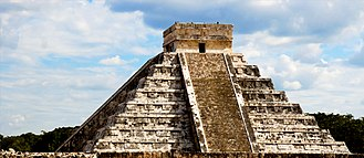 Level of consciousness (Esotericism) - Pyramid of Kulkucan (found at the center of the Chichen Itza)