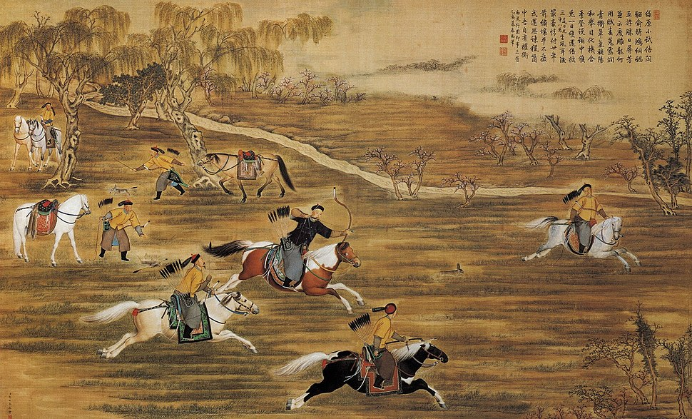 The Qianlong Emperor Hunting Hare