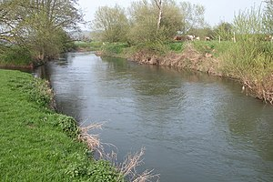 River Lugg - River Lugg at Hampton Bishop