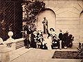 The Royal Family on the terrace of Osborne House by Leonida Caldesi.jpg