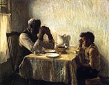 The Thankful Poor by Henry Ossawa Tanner