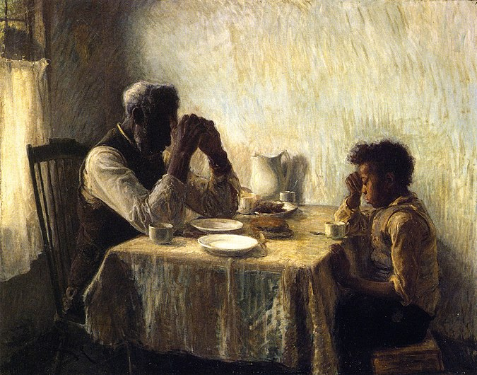 The Thankful Poor, 1894. Henry Ossawa Tanner.jpg