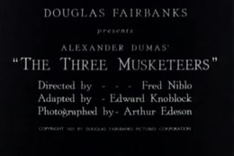 File:The Three Musketeers (1921).webm