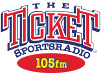The Ticker Sportsradio 105fm logo.png