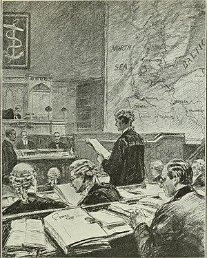 Prize court - British prize court in World War I