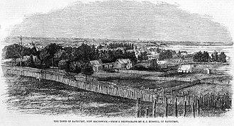 Bathurst, New Brunswick - The Town of Bathurst, 1860