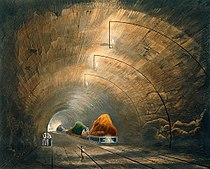 The Tunnel, from Bury's Liverpool and Manchester Railway, 1831 - artfinder 267574.jpg
