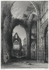 The Western Window, Tintern. Abbey