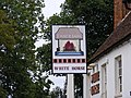 The White Horse Public House Sign, Great Baddow - geograph.org.uk - 1499605.jpg