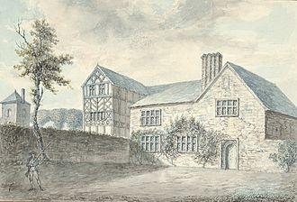 Alberbury Priory - Alberbury Priory (Abbot's House), 1796