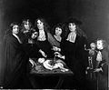 The anatomy of Dr Frederick Ruysch. Oil painting by B. F. La Wellcome L0006583.jpg