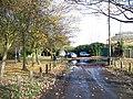 The appropriately named Flood Lane in Faversham - geograph.org.uk - 1066257.jpg