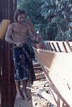 The building of the bedar Naga Pelangi, 1981.jpg