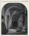 The crypt of Bow church, containing coffins of London fever Wellcome V0020303.jpg