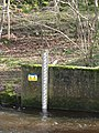 The depth gauge at Eastgate Gauging Station - geograph.org.uk - 728897.jpg
