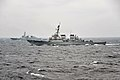 The guided missile destroyer USS Fitzgerald (DDG 62), right, conducts tactical maneuvers with South Korean navy ships in the Sea of Japan March 13, 2013, during exercise Foal Eagle 2013 130313-N-BX824-228.jpg