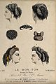 The heads of four women with ringletted hair dressed with ri Wellcome V0019881EL.jpg
