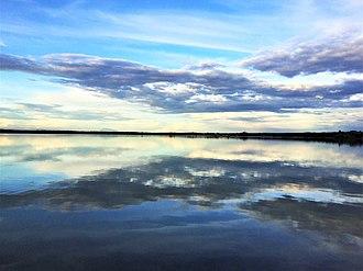 Singida Region - The lake Singidani during the day time in the Singida region Tanzania.