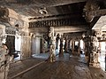 The large prayer hall of the temple - BhogaNandishwara Temple.jpg