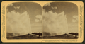 The most famous sight in Yellowstone Park, 'Old Faithful' Geysor in action, by Underwood & Underwood.png