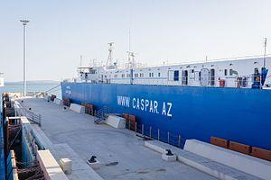 Port of Baku - The new Port of Baku at Alat