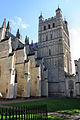The south tower of Exeter Cathedral.jpg