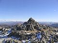 The summit cairn of Sgurr Ghiubhsachain - geograph.org.uk - 211776.jpg