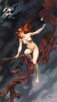 Nudist into witchcraft pics 158