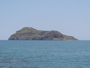 Agioi Theodoroi (islands) - The islet of Agios Theodoros.
