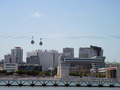 There are aerial cable cars alongside the Tagus in Lisbon.png