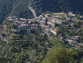 A general view of the village of Thiéry