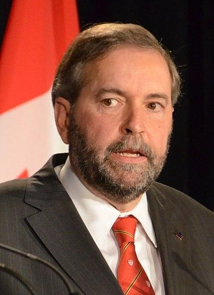 File:Thomas Mulcair Montreal NDP Debate Crop.jpg