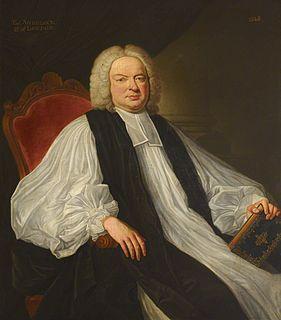 Thomas Sherlock Bishop of Bangor; Bishop of Salisbury; Bishop of London