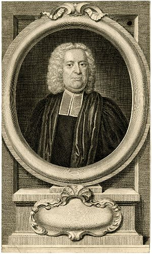 Thomas Stackhouse - Thomas Stackhouse, 1743 engraving by George Vertue, after John Wollaston.