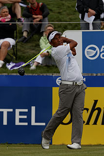 Thongchai Jaidee Thai professional golfer