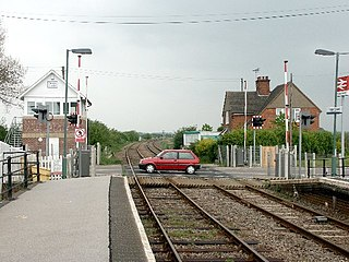 Thorpe Culvert railway station Station in Lincolnshire, England