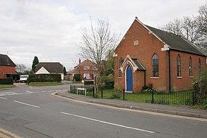 Three Mile Cross - Image: Three Mile Cross geograph.org.uk 3944